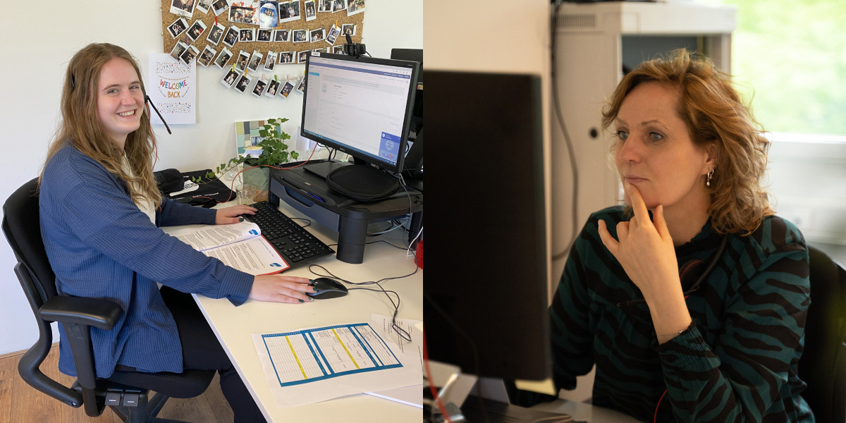 Eileen en Suzanne nieuwe aanwinsten team Bureau Fris